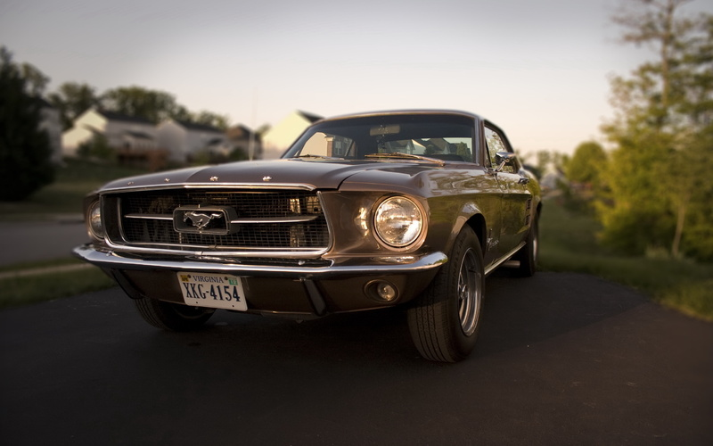 ford, mustang, 1967