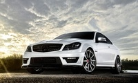 tuning, 2012, coupe, beautiful, wallpapers, amg, c63, new, benz, Car, vorst ...
