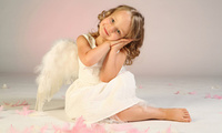angel, happiness, Little girl, feathers, wings, cute, beautiful, child, lov ...