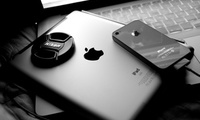 macbook pro, телефон, Apple, ipad 2, iphone 4, nikon, ноутбук, iphone 4s