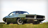 muscle car, Dodge, charger, rt