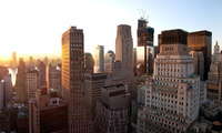 new york city, Lower manhattan, sunset, new york, united states, nyc, закат ...