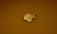 logo, 3d, apple