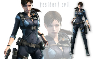 stars, fighter, warrior, sexy, 3d, brown hair, jill valentine, girl, capcom, bsaa, Resident evil