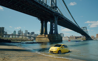 "usa, bridge, new-york, america, city, Commercial, ""immigrants"", fiat 500"