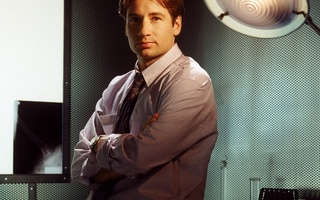 fox mulder, The x-files, david duchovny