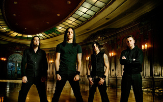 jason james, michael thomas, michael padget, matthew tuck, Bullet for my valentine, группа