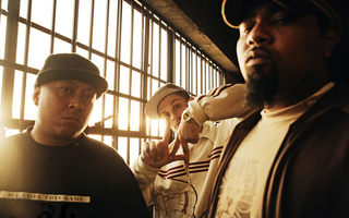 , группа, dilated peoples, Evidence and dj babu