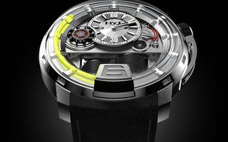 with the h1 watch, unleashes a masterpiece, watch, hyt, Часы