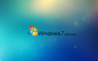 Windows, лучи, пузыри, 7, ultimate