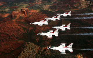 fighting, f-16, thunderbirds, General, dynamics, истребитель, falcon