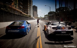 mazda, drift, Long beach, infinity