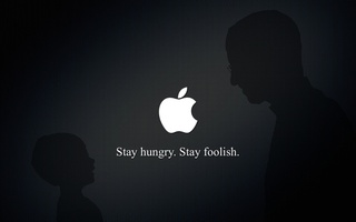 Stay hunry, stay foolish, стив джобс, apple, steve jobs