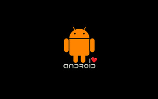 сердечко, Android, i love android, os