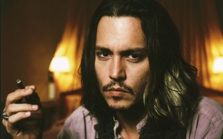 actor, Johnny depp, cigar, сигара, джонни депп, актер