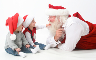 new year, holidays, Merry, children, claus, christmas, interview, happy, santa