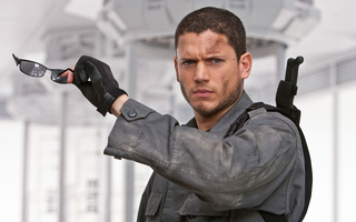 4, Resident evil, wentworth miller, перчатки, вентворт миллер, очки