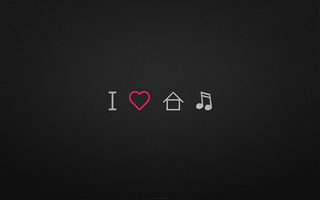 love, house, I, music