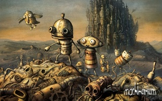 робот, инди, Machinarium