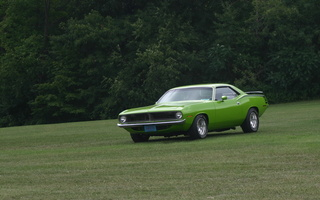 Plymouth, 340, muscle car, barracuda