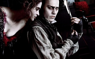 Тим бертон, sweeney todd the demon barber of fleet street, суини тодд