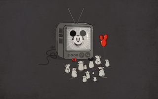 tv, mice, idol, Mickey mouse, fans