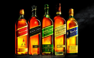 Johnnie walker, blue label, red label, виски, green label, gold label, джонни уокер