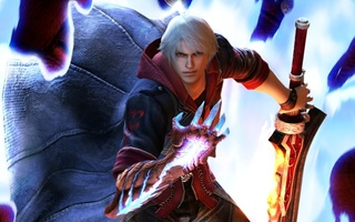 gun, sword, devil bringer, nero, dmc, Devil may cry 4, game wallpapers, red queen, special edition