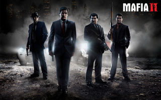 vito scaletta, Mafia 2, henry thomasino, joe barbaro, оружие, edoardo _eddie_ scarpa