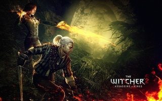 geralt, triss merigold, The witcher 2 assassins of kings