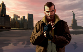 niko, нико, gta iv, беллик, bellic, grand theft auto, Gta 4