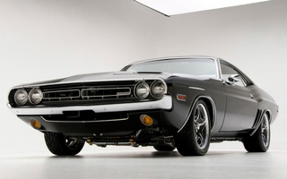 challenger, 1971, muscle, Dodge