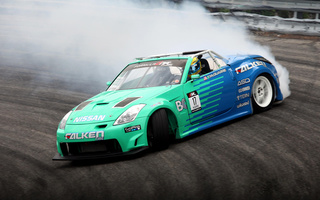 350z, Nissan, drift
