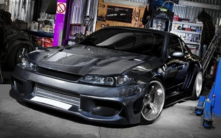 s15, Nissan, mega expansion, гараж, silvia