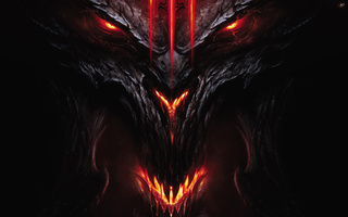 face and head, diablo 3, demon, Devil, diablo iii