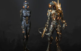 fan art, legion, edi, Mass effect, geth