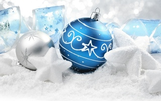 ornaments, , balls, Merry christmas, snow stars, new year, presents, decoration