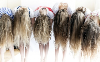 girl, Hair, modelparty
