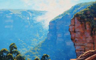 echo point katoomba, artsaus, рисунок, Арт