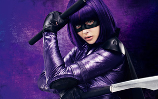 убивашка, movie, kick ass 2, 2013, chloe moretz, Hit girl