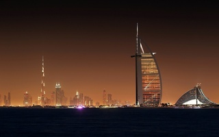 ночь, wallpapers, обоя, scycraps, City, dubai, light, город, night, дубай