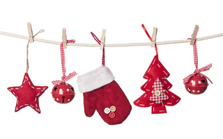 New year, toys, glove, christmas tree, decorations, balls, stars, merry christmas