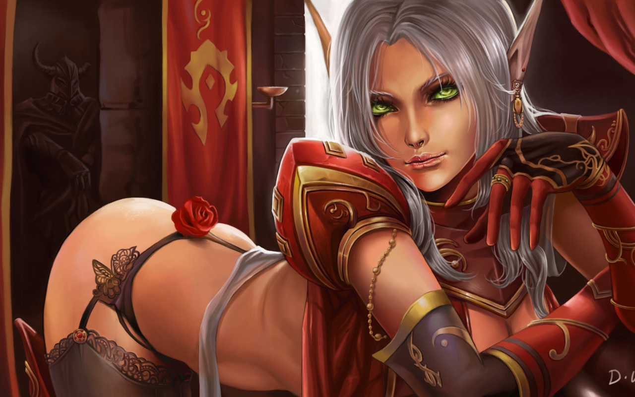 Naked draenei girl pictures adult picture